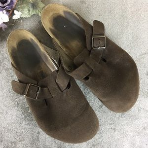 Birkenstock Brown Clogs Size 43